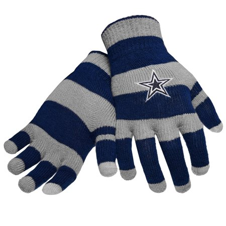 b6a015c2a7d Dallas Cowboys Official NFL Glove Stripe Outdoor Winter Stretch Knit by Forever  Collectibles 495338 - Walmart.com