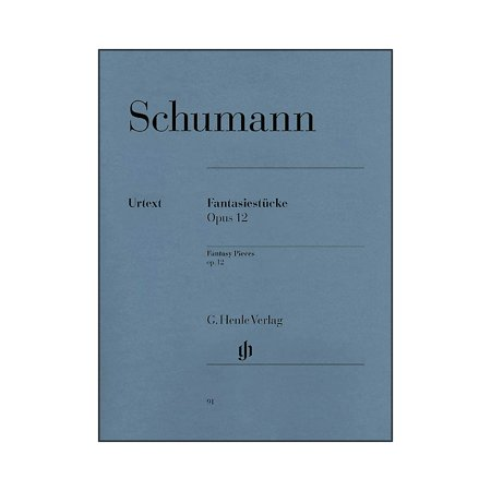 Robert Schumann Fantasy Pieces - G. Henle Verlag Fantasy Pieces Op. 12 (with Appendix: Woo 28) By Schumann