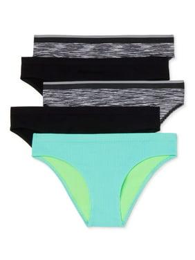 No Boundaries Women's Seamless Cheeky Panty, 5-Pack