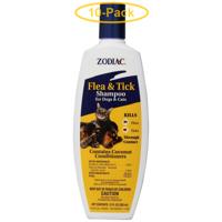 Zodiac Flea & Tick Shampoo For Dogs & Cats 12 oz - Pack of 10