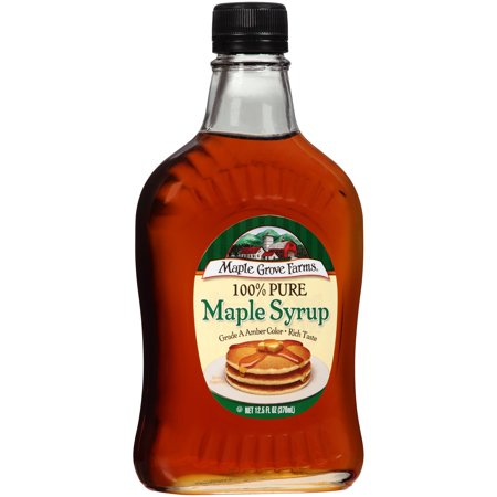 Maple Grove Farms Pure Dark Amber Maple Syrup  12 5 Oz