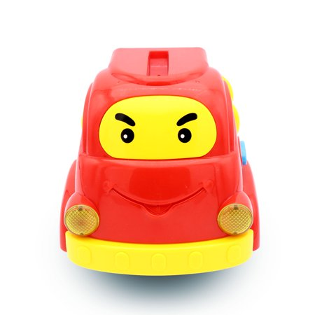 Pull Apart Fire Truck Baby Car Rattle