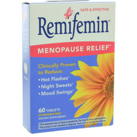 Remifemin Menopause Relief Tablets 60 ea (Pack of