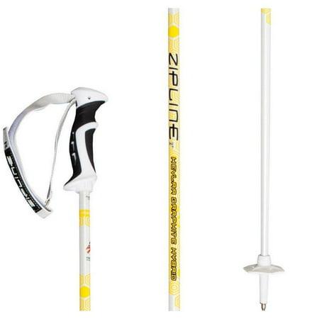 "Podium 14.0 Kevlar Graphite Hybrid Composite Ski Pole - 48"" / 121 cm"