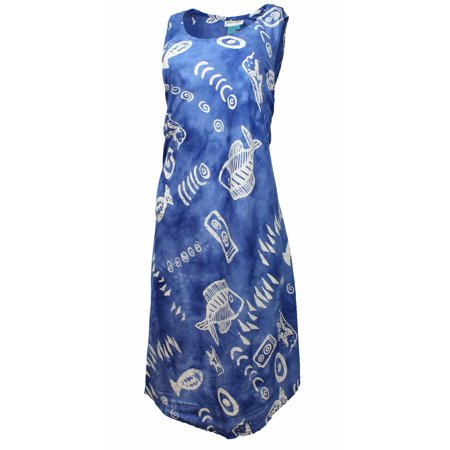 Jessica Taylor Womens Plus Sized Sleeveless Umbrella Dress (3X, Blue) for $<!---->