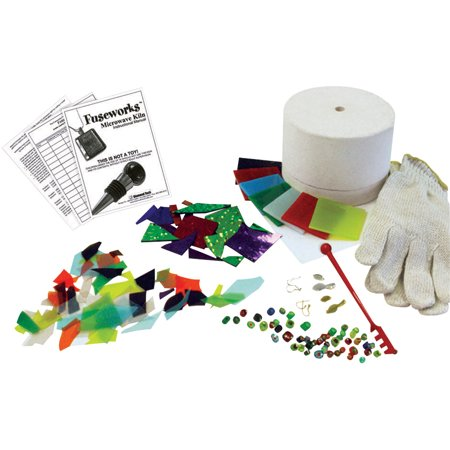 - Diamond Tech Fuseworks Glass Microwave Kiln Fusing Kit, Assorted Size, Assorted Color