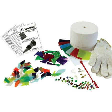 Diamond Tech Fuseworks Glass Microwave Kiln Fusing Kit, Assorted Size, Assorted (Paragon Glass Kiln)