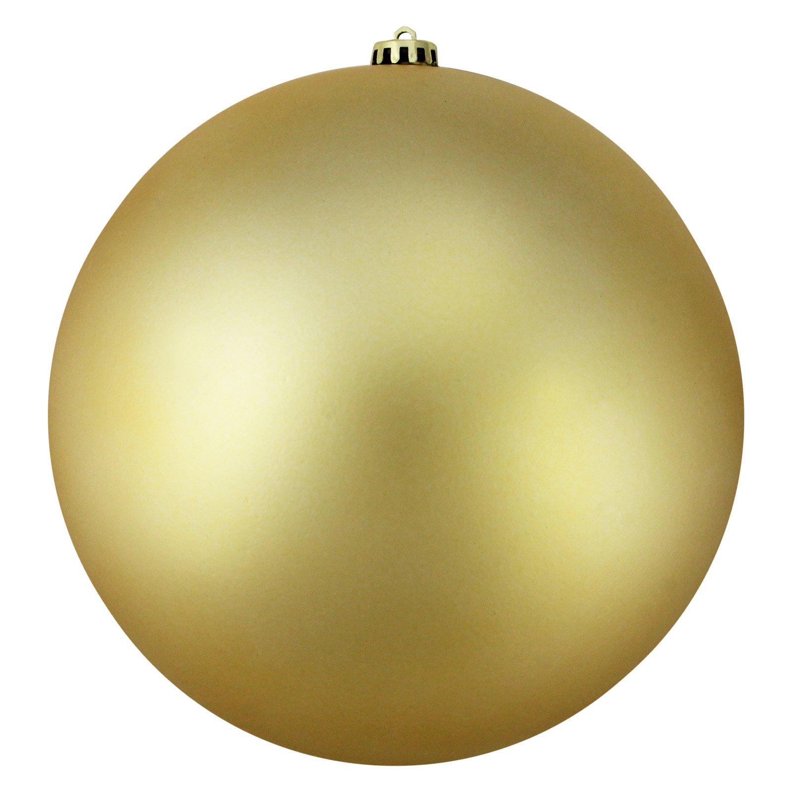 Northlight Shatterproof Matte UV Resistant 8 in. Christmas Ball Ornament