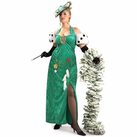 Lady Luck Costume (Lady Luck Adult Halloween)