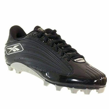 REEBOK OUTSIDE SPEED LOW M MENS FOOTBALL CLEATS BLACK 11.5