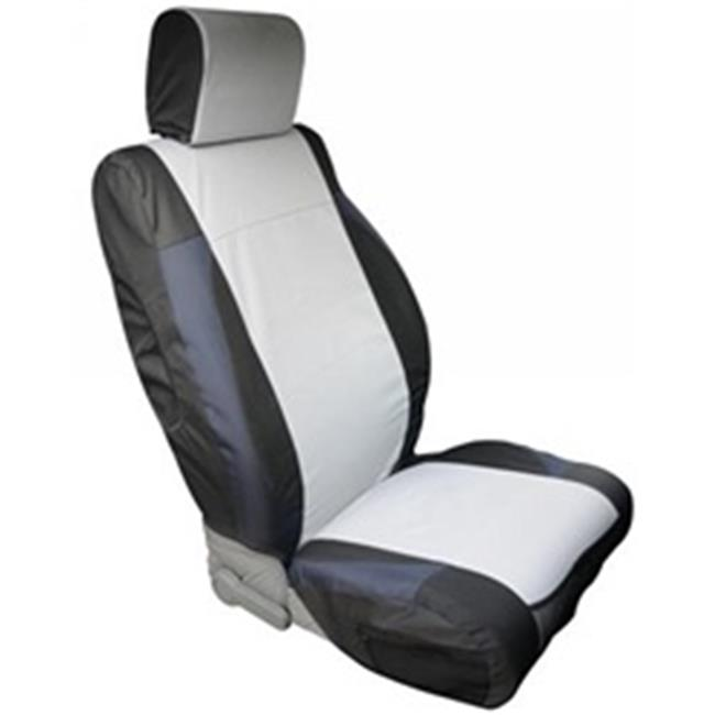 Polycanvas Custom Seat Covers, Black And Gray, Jk 07-12 - image 1 of 1
