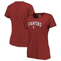 Stanford Cardinal Women's Campus T-Shirt - Cardinal