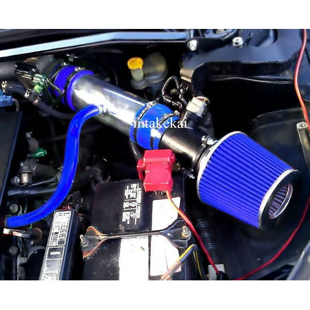 Performanc Air Intake for 2002 2003 2004 2005 2006 Nissan Altima 3.5L / 2003-2006 Nissan Murano 3.5L V6 ENGINE (BLUE)