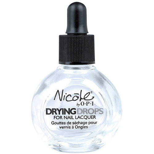 Nicole by OPI Drying Drops for Nail Lacquer, 0.5 fl oz