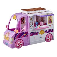Disney Princess Comfy Squad Sweet Treats Truck Playset, 16 Accessories
