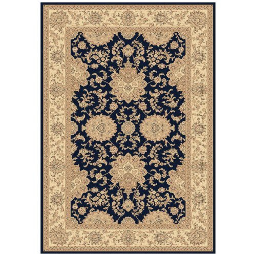 Dynamic Rugs Legacy 58019 Creche Persian Rug - Navy