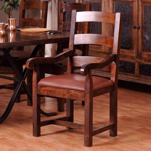 Rajah Wood Dining Arm Chair