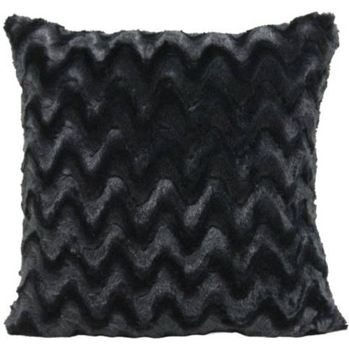 your zone ripple pillow, rich black