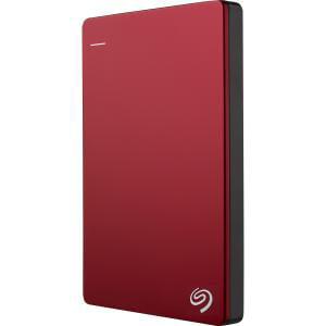 Seagate 1TB BACKUP PLUS USB 3.0 SLIM PORTABLE DRIVE RED - STDR1000103