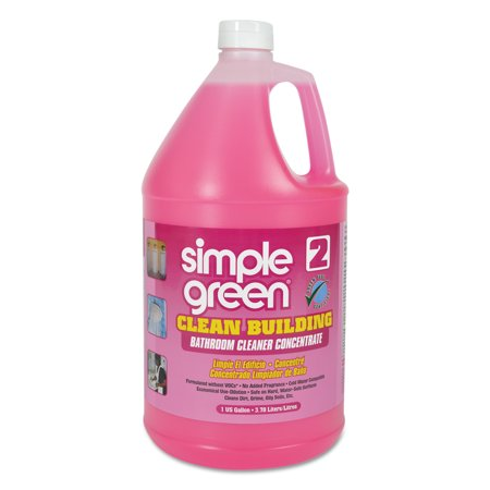 Simple Green Clean Building Bathroom Cleaner Concentrate  Unscented  1Gal Bottle