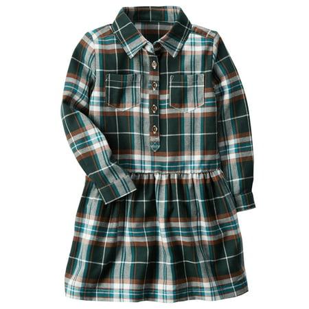 7c7c620a0 Carter's - Carter's Baby Girls' Plaid Holiday Dress 6 Months - Walmart.com