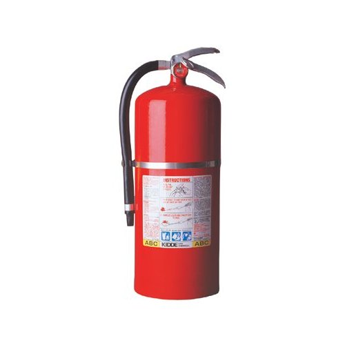 Kidde ProPlus  Multi-Purpose Dry Chemical Fire Extinguishers - ABC Type - tri class tri chemical steel cylndr extinguisher