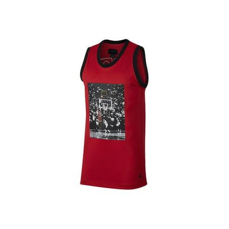 Air Jordan Sportswear Last Shot Mesh Men's Jersey AQ0697 687 Size XL RTL $90 New ()