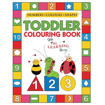 Halloween Activities For School Agers (My Numbers, Colours and Shapes Toddler Colouring Book with The Learning Bugs : Fun Children's Activity Colouring Books for Toddlers and Kids Ages 2, 3, 4 & 5 for Nursery)