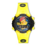Pokemon Flashing LCD Watch