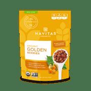 Navitas Organics Golden Berries, 4.0 Oz, 4 Servings