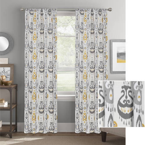 Better Homes and Gardens Tribal Chandeliers Curtain Panel by Colordrift LLC