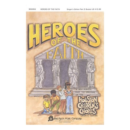 Fred Bock Music Heroes of the Faith (Sacred Children's Musical) Sgr 5 Pak arranged by (Houston Children's Choir Series) - Children's Boutiques Houston