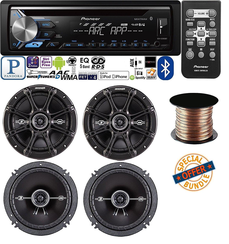 pioneer deh x3900bt vehicle cd digital music player receivers w 4 2 Ohm DVC Wiring pioneer deh x3900bt vehicle cd digital music player receivers w 4 kicker 6 5
