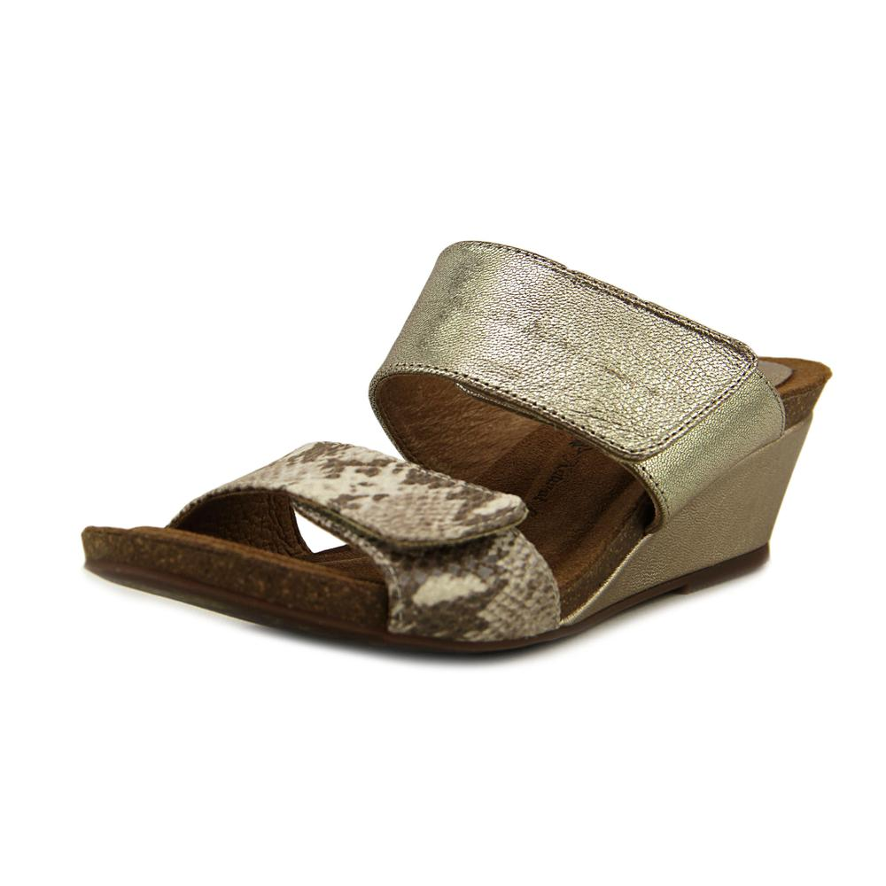 Sofft Vangie Open Toe Leather Wedge Sandal by Sofft