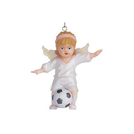 Seraphim Classics Soccer Player Ornament #62113 Seraphim Angel Ornaments