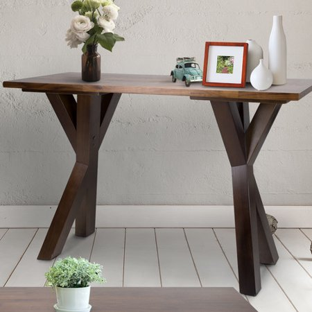 Thick American Black Walnut - Ridgefield Console Table with 1