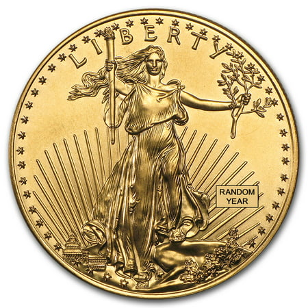 - 1 oz Gold American Eagle BU (Random Year)
