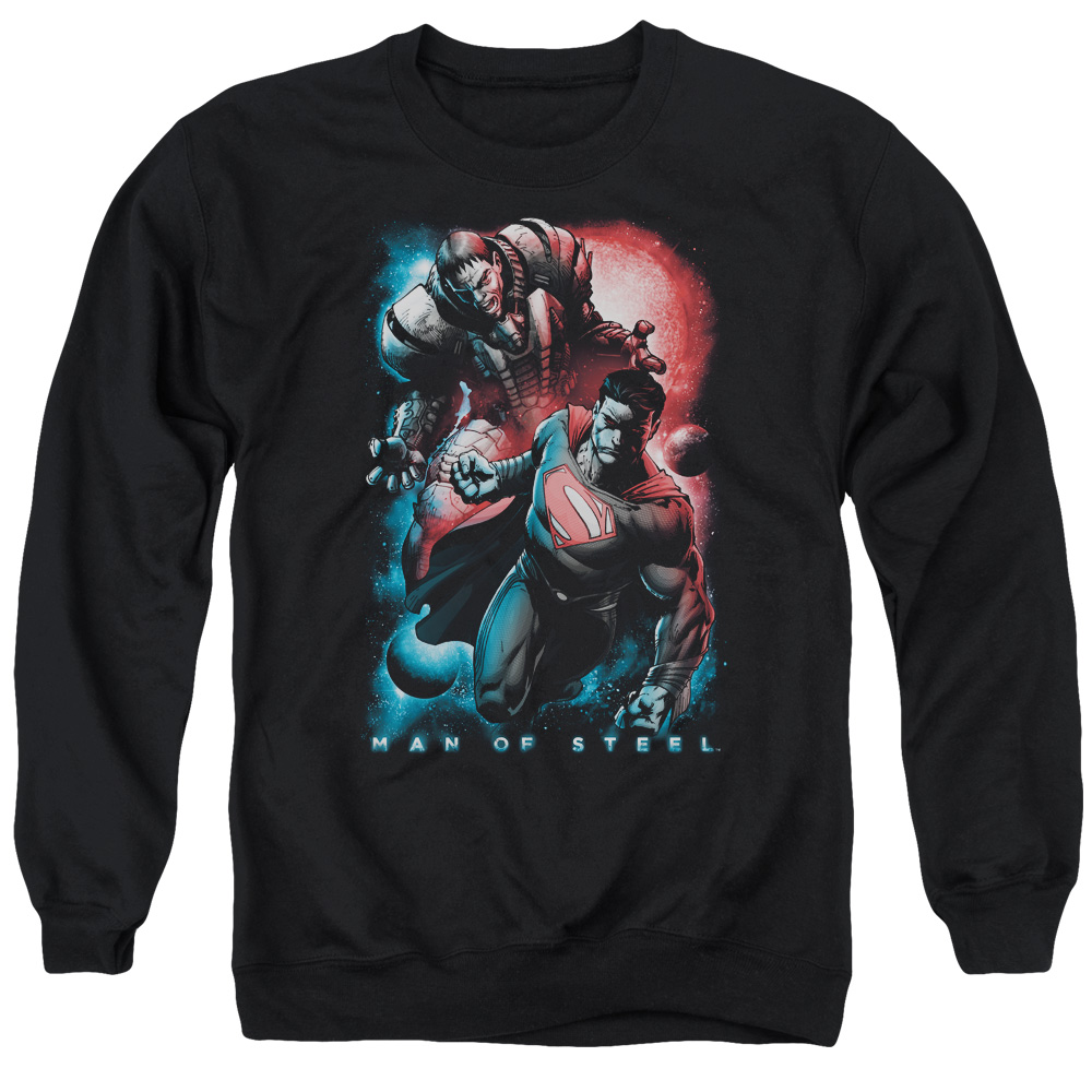 Man Of Steel Sons Of Krypton Mens Crewneck Sweatshirt