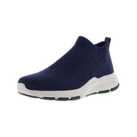 Skechers Men's Bammer - Beezel Navy Ankle-High Fabric Slip-On Shoes 9.5M