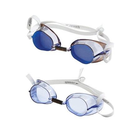 Speedo Swedish Goggles 2-Pack Performance Swim Goggles - Blue