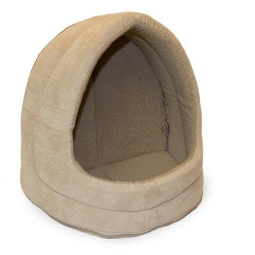 Tucker Murphy Pet Neale Snuggle & Terry Suede Hood Cat Bed