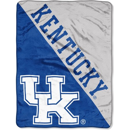 "NCAA Kentucky Wildcats ""Halftone"" 46""x 60"" Micro Raschel Throw"