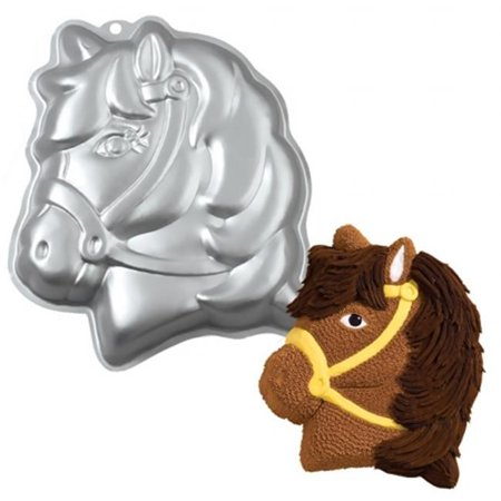 Wilton Horse Cake Pan, Kids 3D Birthday Cake - Dragon Cake Pan