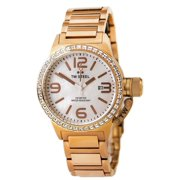 TW306 Women's Canteen Swarovski Crystal MOP Dial Rose Gold IP Steel Watch