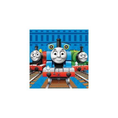Thomas and Friends Lunch Napkins, 16 Count, Party Supplies