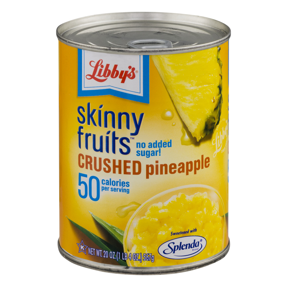 Libby's Skinny Fruits Crushed Pineapple, 20.0 OZ