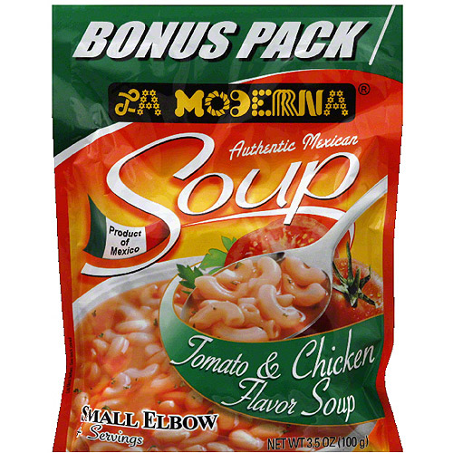 La Moderna Tomato and Chicken Soup, 8.5 oz, (Pack of 12)