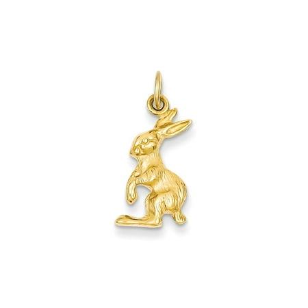 14k Jack (14k Yellow Gold Jack Rabbit Charm )