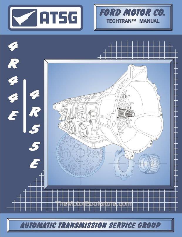 ford 4r44e 4r55e transmission rebuild manual 1995 2001 walmart com rh walmart com 4R55E Diagram 4R44E Transmission Problems