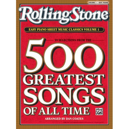Rolling Stone Easy Piano Sheet Music Classics, Volume 1 : 39 Selections from the 500 Greatest Songs of All Time - Creepy Halloween Piano Songs